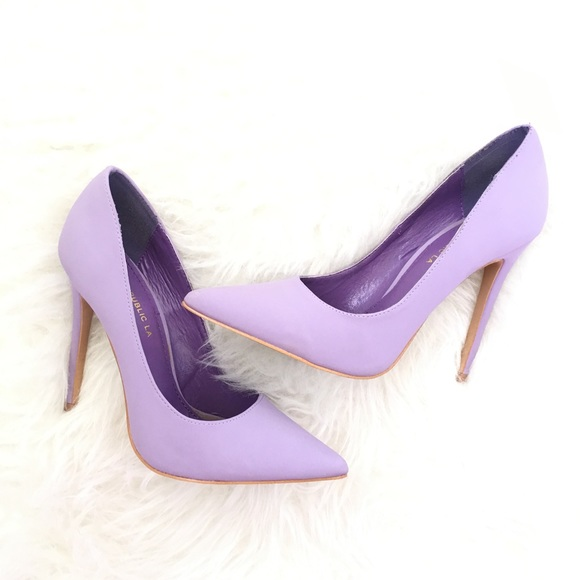 9103ccf8b312 Lola Shoetique Shoes - Lola Shoetique Lavender Heels