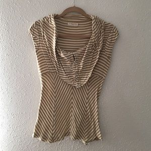 XS Anthropologie Striped Tank Top
