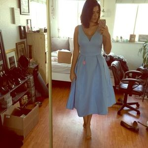 Dresses & Skirts - Light Blue Prom/Bridesmaid Dress