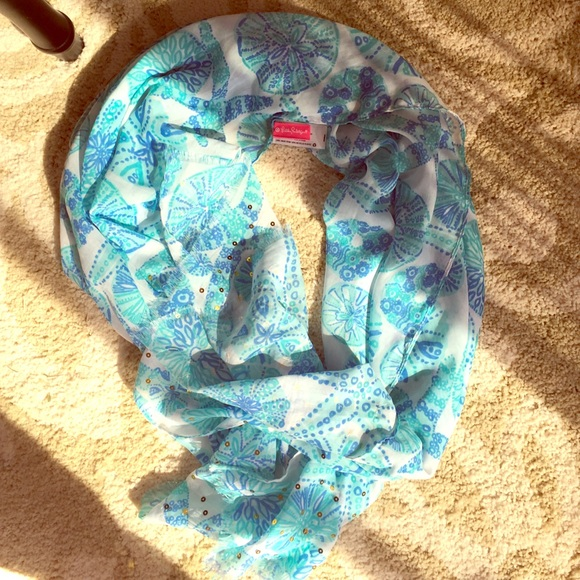 0612f240d486cd Lilly Pulitzer for Target Accessories - Lilly Pulitzer Sea Urchin for You  Scarf