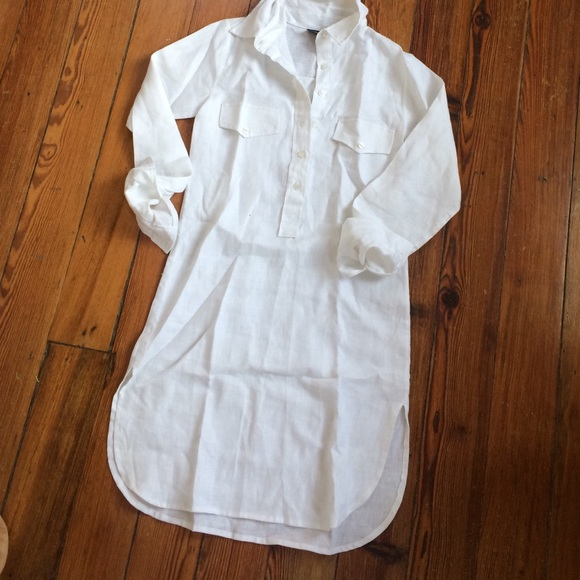 fde2cf273a9 Guru Dresses | White Linen Dress Great Beach Cover Up | Poshmark