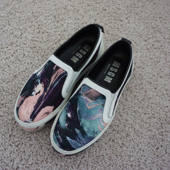 MSGM Shoes | Platform Slipon Sneakers