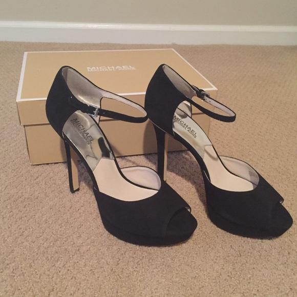 f82c55e7bdb7 Michael Kors  Georgia  platform peep-toe heels