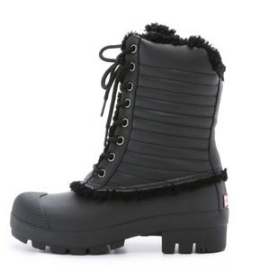 Hunter Boots Shoes - LAST ONE🎈HUNTER BOOTS LACE UP SHEARLING