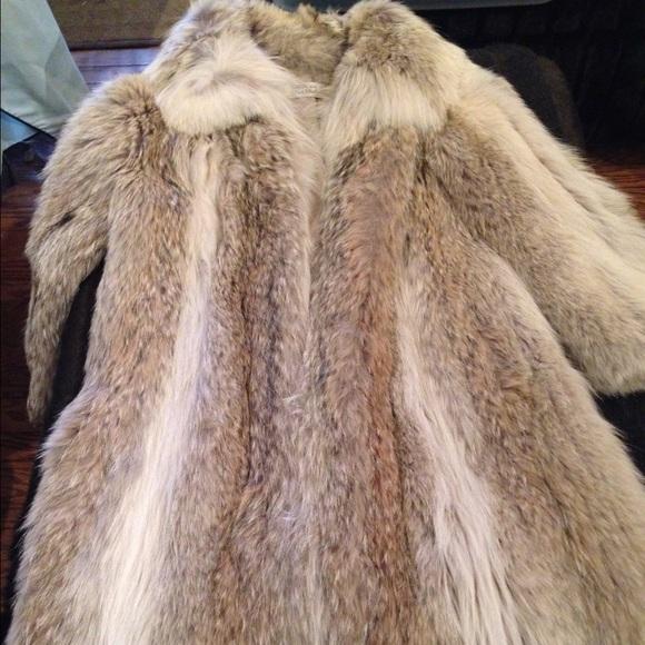 Coyote Fur Coat >> Ben Thylan Jackets Coats Authentic Full Length Coyote Fur Coat