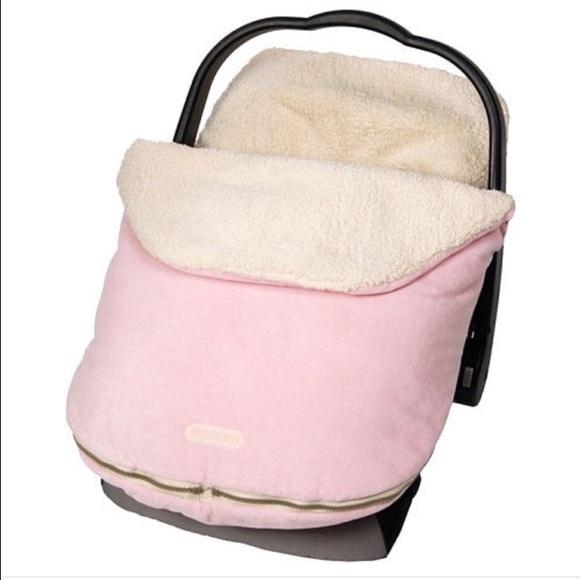 JJ Cole Bundle Me Infant Car Seat Cover PINK