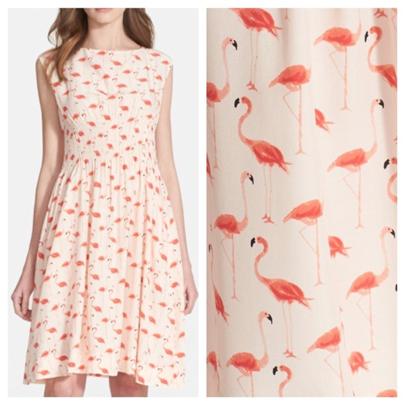 03e066471fe1 Kate Spade Flamingo Blaire Dress