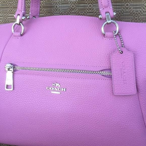 36% off Coach Handbags - NWT COACH Prairie 34340 Pink Satchel ...