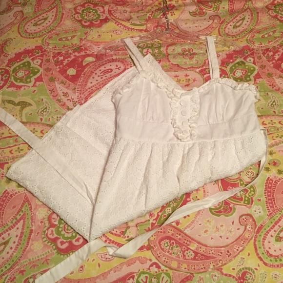 841665e0b7c8 Rampage Dresses   White Eyelet Lace Dress   Poshmark