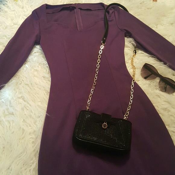 no brand Dresses & Skirts - Purple long sleeve dress