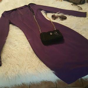 no brand Dresses - Purple long sleeve dress