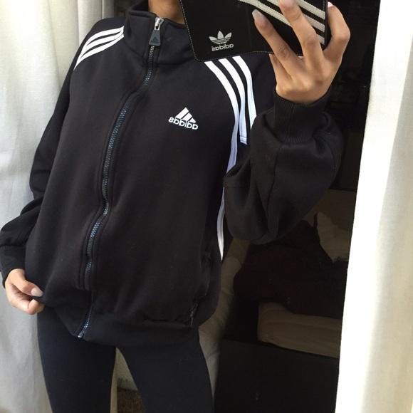 adidas soccer jacket small