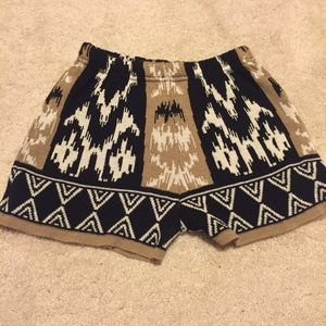 Urban Outfitters knit shorts