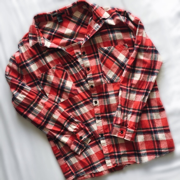 Urban Outfitters Tops - Red Flannel