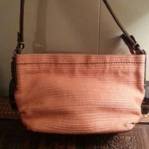 Orange Woven Hemp bag