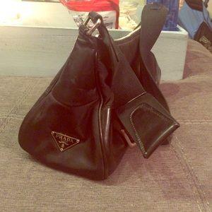 prada red backpack - 80% off Prada Handbags - ??SALE????Prada Canvas Shoulder Bag from ...