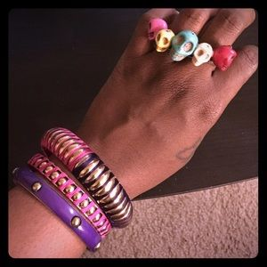 Jewelry - B2G1 FREE Pink & Purple Jewelry Bundle