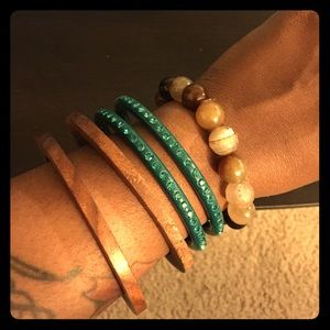 Jewelry - B2G1FREE Bangles, Beads & Stones Bundle