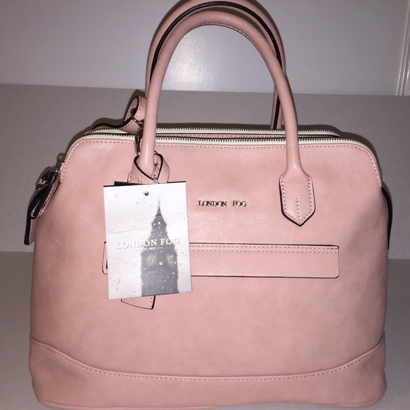 London Fog Bags Pink Handbag With A Shoulder Strap Poshmark