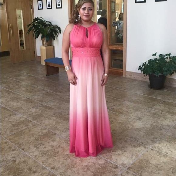 Jessica Howard Dresses | Beaded Halter Evening Gown | Poshmark
