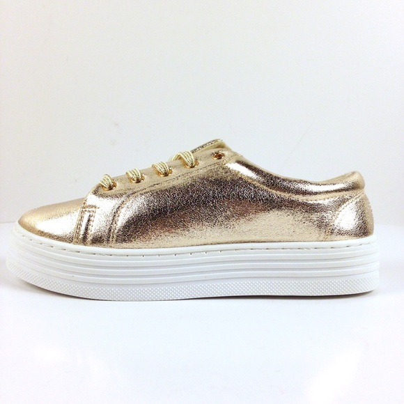 43% off Rouge Shoes - NEW! ROUGE GOLD PLATFORM SNEAKERS / NIB from ...