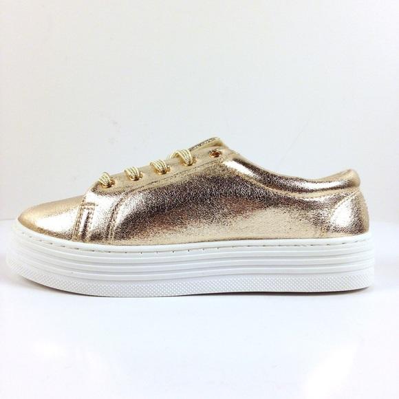 Rouge Gold Platform Sneakers Nib | Poshmark