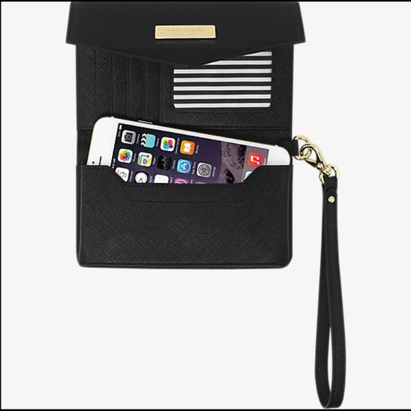 new style 5fb72 24109 Kate Spade cell phone wristlet NWT
