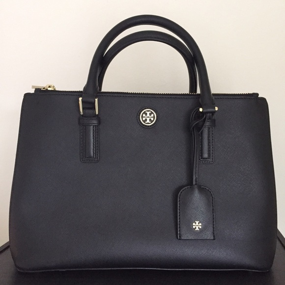 3c07d9f496c8 Tory Burch Robinson Large Double Zip Tote