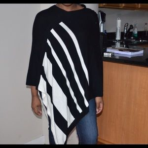 The Limited Other - Striped poncho