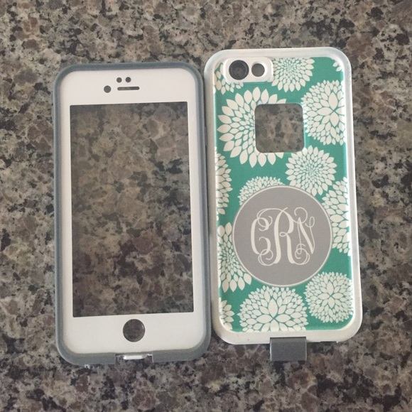 the best attitude 76349 bdd5c iPhone FRE 6/6s monogrammed lifeproof case CRN