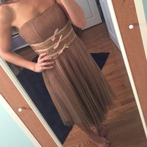 Betsy Johnson Strapless Dress