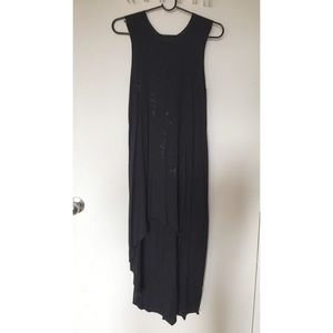 e1959b291d9e Urban Outfitters Dresses - Truly Madly Deeply Knit Raw-Hem Tank Top Dress