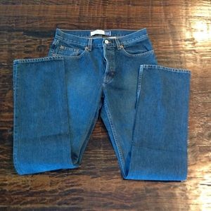 Like new Gap Long and Lean Bootcut Jeans