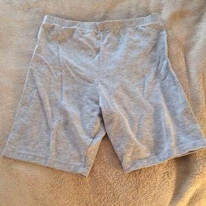 Jacques Moret Pants - Jacques Moret Gray Workout Shorts