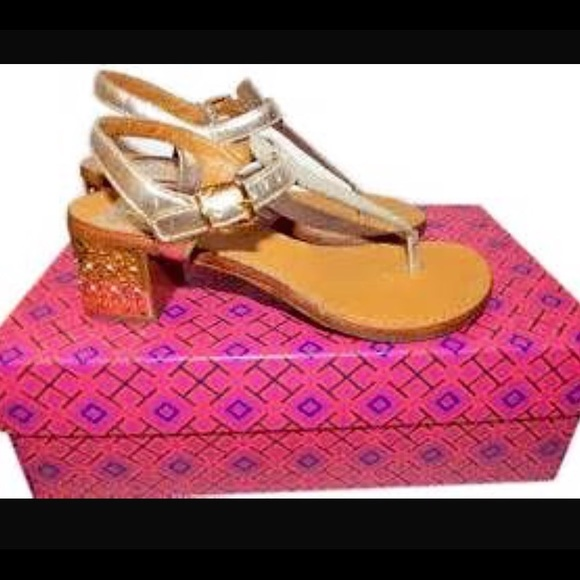6f65370bb49 Tory Burch Audra sandal. 9.5 in box with dust bag