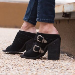 Free People Shoes - Nightwalker Blind Mule Booties
