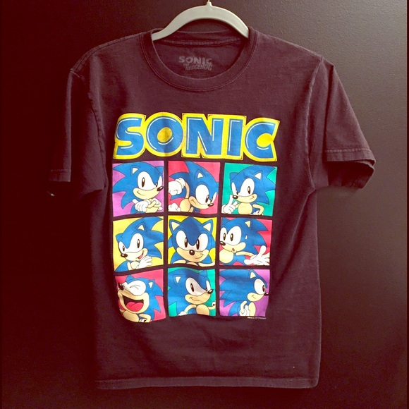 Vintage Tops Sonic The Hedgehog T Shirt Poshmark