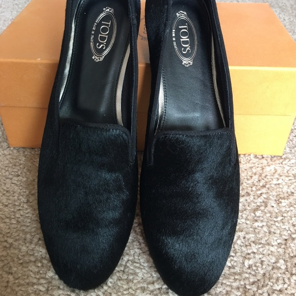 Tod's Black Velvet Loafers Clearance Explore Free Shipping Discounts Free Shipping Professional Get Authentic Online KUFh9ZqRC