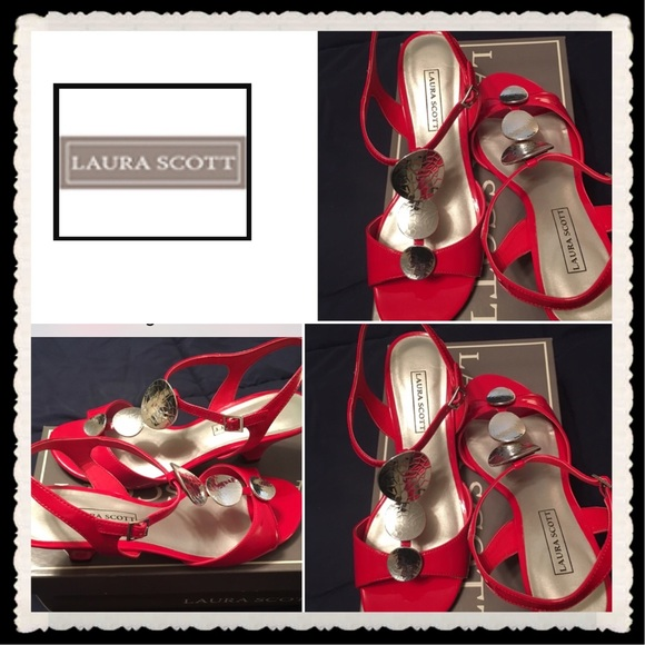 40 off laura scott shoes laura scott red patent leather. Black Bedroom Furniture Sets. Home Design Ideas