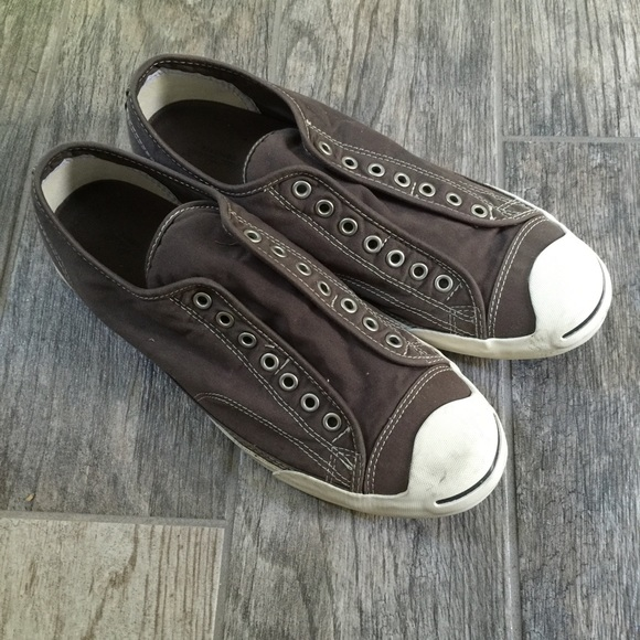 d6466f5a935c Converse by Jack Purcell Other - Jack Purcell laceless converse in dark grey