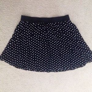  Pok-a-dot Skater Skirt