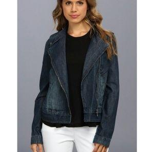 DKNY Jackets & Blazers - DKNY soft denim biker jacket