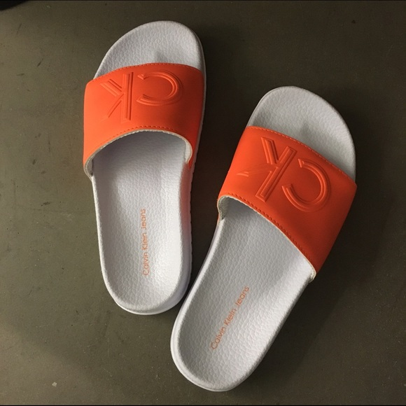 Brand New Calvin Klein Jeans Sandal Slide Calvin Klein Summer Shoes