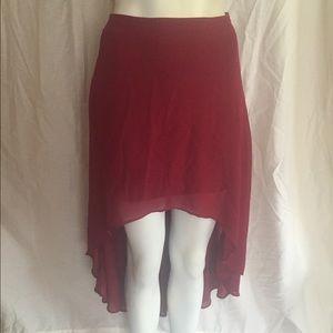 Forever 21 Low High Skirt