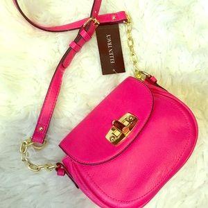 Ellen Tracy Handbags - ‼️ SALE ‼️ Hot Pink - Mini Saddle Bag