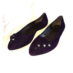 Miss Sixty Shoes - Miss Sixty Suede Ballet Flats