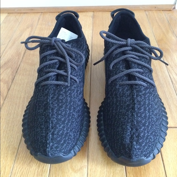 100% Authentic Adidas Yeezy Boost 350 Pirate Black