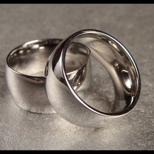 Stainless Steel Ring 10mm heavyweight