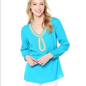 """NWT Lilly Pulitzer """"Violet"""" Tunic"""