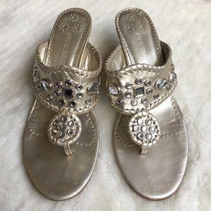 Jack Rogers Shoes - Authentic Jack Rogers Bling Sandals Size 8 1/2